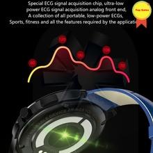 Smart Watch ECG Sports ECG+PPG HRV Report Heart Rate Blood Pressure Test IP67 Waterproof Wristband healthy care