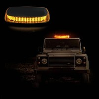 1 Set 240 LED Strobe Running Lights Yellow Flashing Emergency Light Police Warning LED Car Light Source Auto Accessories