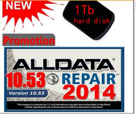 Auto repair software alldata mitchell on demand alldata 10.53 +ELSA 4.0 etc 16 in1 WD/TOSHIBA/HGST/ Seagate randomly sent