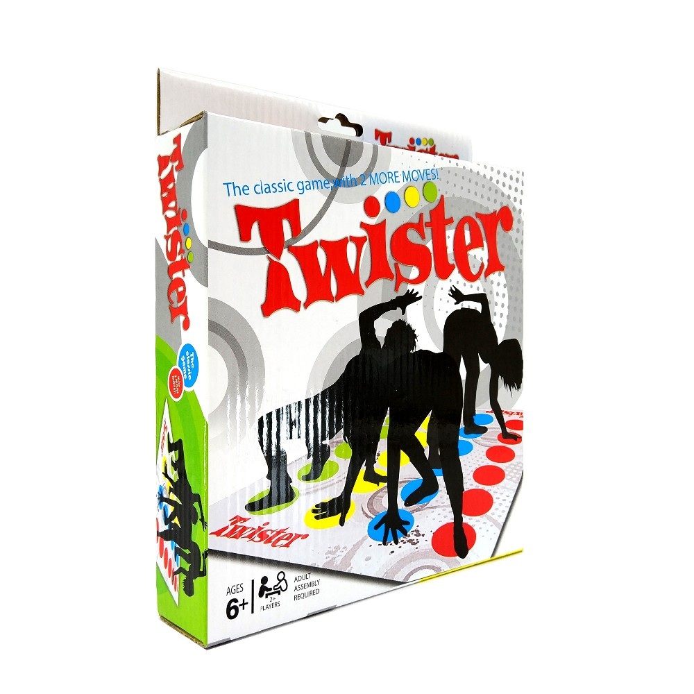 Classic Twister Game moves body on spot toys English rules outdoor family party fun Board Games