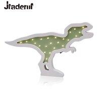 Jiaderui Dinosaurio Bebé Embroma el Regalo de Escritorio de La Pared del LED Luz de La Noche Creativa Lámpara de Noche Dormitorio Salón Lámpara de La Decoración Interior del Hogar