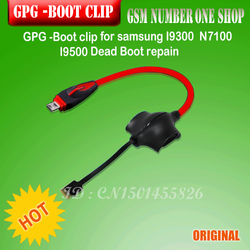 GPGS- Boot Clip For SamsungI9300 N7100 I9500 Dead Boot repair(SBOOT S-Boot cable )+free shipping