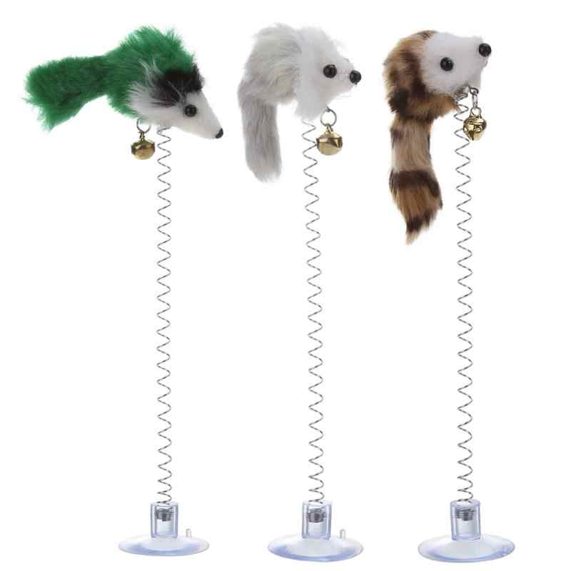 1/3Pcs שווא עכבר לחיות מחמד חתול צעצועי משחק מצחיק צעצועי חתולי תחתון Sucke עבור חתלתול לחיות מחמד מושב שריטה צעצוע לחיות מחמד לחתולים
