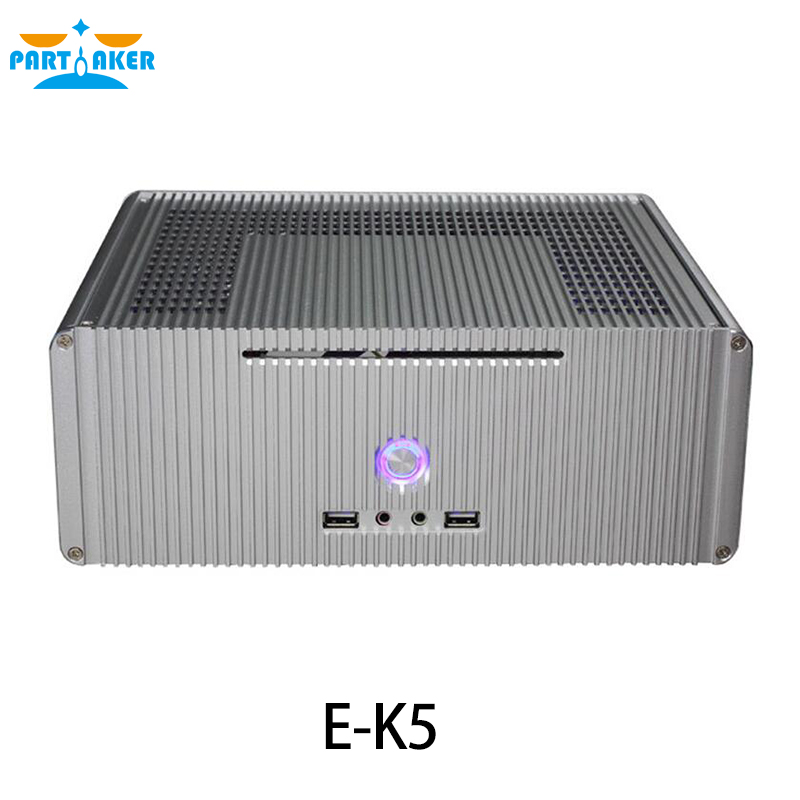 E-K5 alluminum mini itx chassis with LR-200W Switch Power