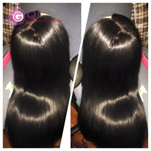 100% virgin brazilian silk top full lace wigs silky straight glueless silk base lace front full human hair wigs for black women