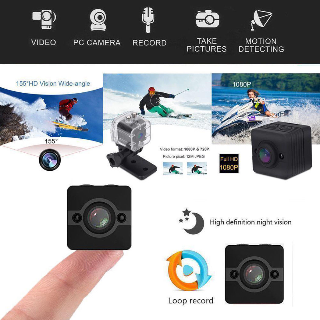 8G Card+SQ12 Mini Full HD 1080P Video Camera DV Sport IR Night Vision Car DVR Camcorder8G Card+SQ12 Mini Full HD 1080P Video Camera DV Sport IR Night Vision Car DVR Camcorder