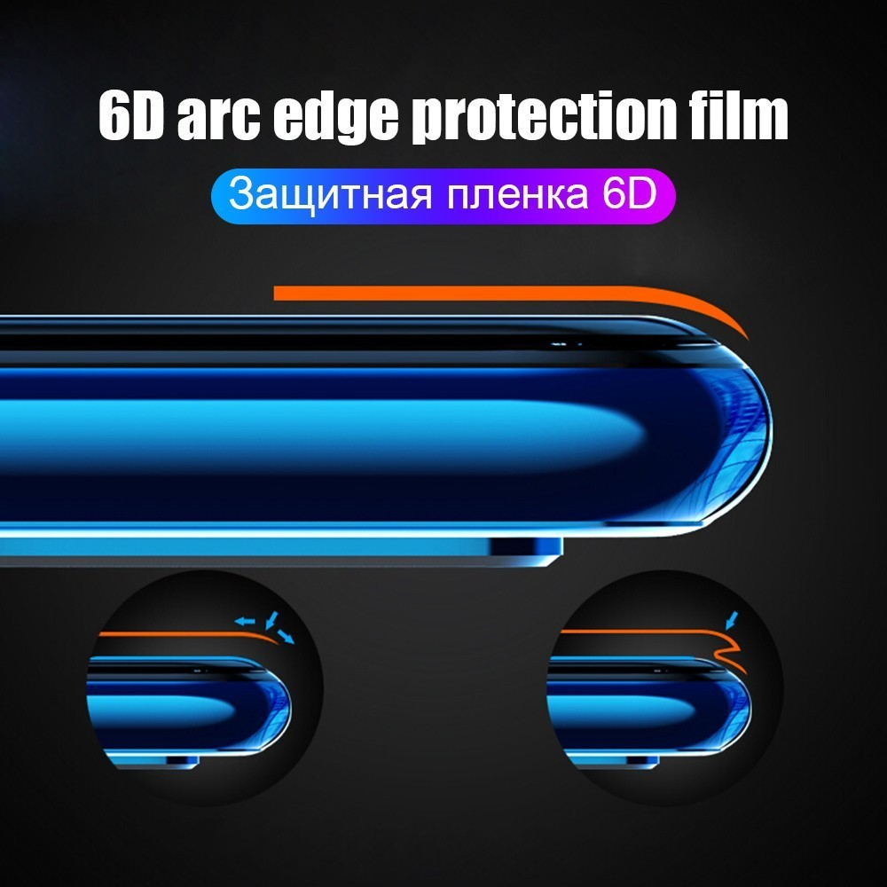 For Huawei Nova 3E 3i 4E P 30 20 Soft TPU Front Back Full Cover Screen Protector Clear Hydrogel Film For Honor 20 i 10 Lite Pro in Phone Screen Protectors from Cellphones Telecommunications