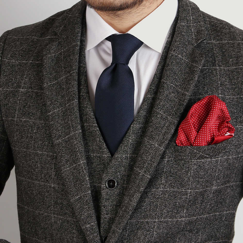 Handkerchiefs Hankies NEW Paisley Polka Floral Checked Silk Suit Pocket Squares
