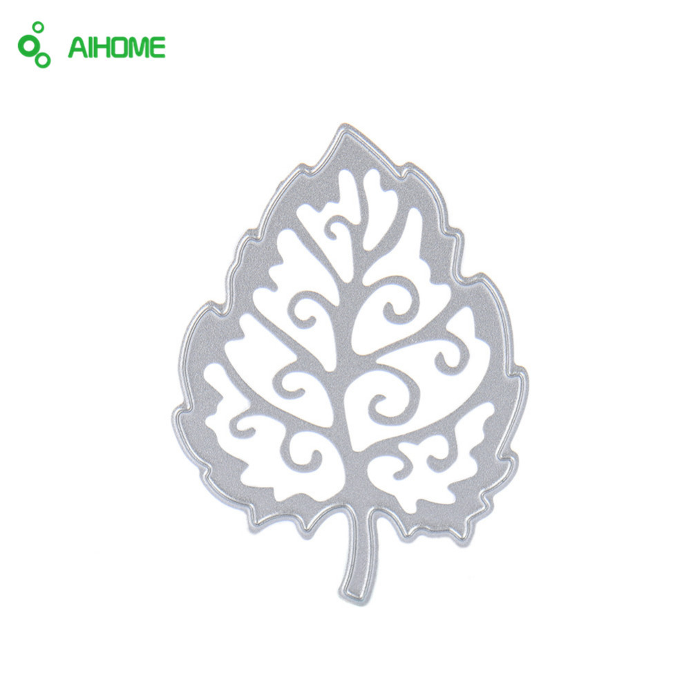 3 X Metal Leaves Cutting Dies Stencils DIY Scrapbooking Decor Paper Cards