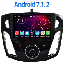 "9 ""Quad Core 2 GB RAM BT Android 7.1.2 Multimedia DAB USB Navegación de los GPS para Ford Focus 3 2011 2012 2013 2014 2015"