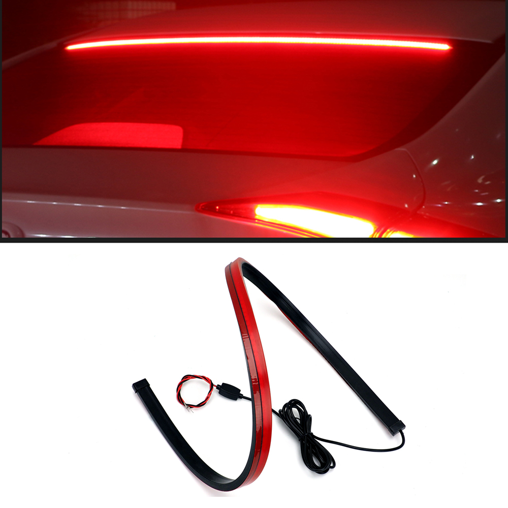 180pcs LED Additional Brake Lights Auto Super Hight Bright Mount Stop 12V Signal Lamps Car Styling For BMW AUDI FIAT LADA