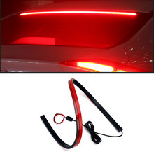 180pcs LED Additional Brake Lights Auto Super Hight Bright Mount Stop Lights 12V Signal Lamps Car Styling For BMW AUDI FIAT LADA(China)