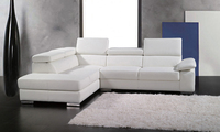 2013 European Modern Design Small L Shaped Genuine Leather Corner Sofa Free Shipping Living Room Sofa
