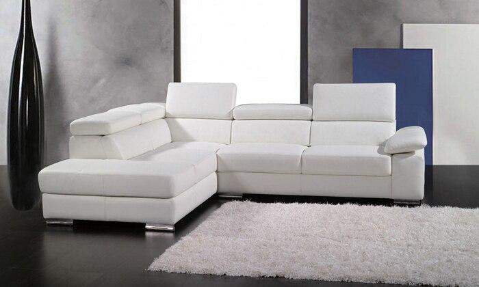 acquista all'ingrosso online piccolo divano ad angolo da grossisti ... - Pelle Dangolo Divano Minimalista