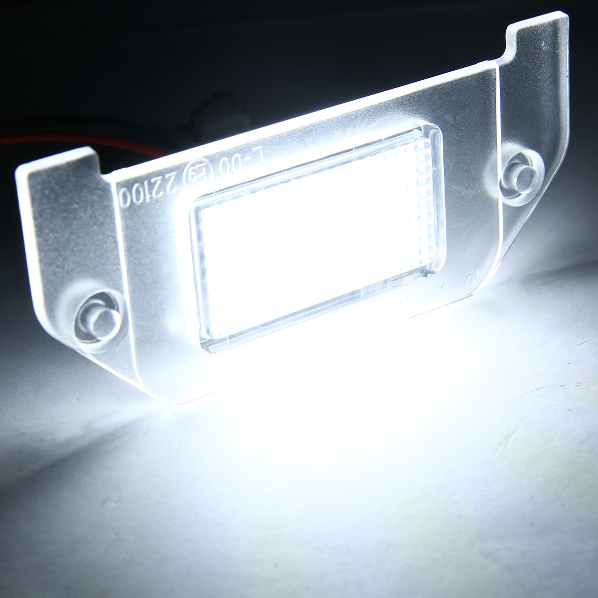 For <font><b>Dodge</b></font> <font><b>Charger</b></font> Challenger Dart Magnum 1pc 18SMD LED License Plate Light High Brightness White Mayitr image