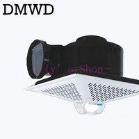 DMWD Mini olio di scarico fumi ventilatore Piccola cucina gamma cappa cappa a soffitto ventilatore a soffitto exhaustfan rangehood fumi UE spina DEGLI STATI UNITI