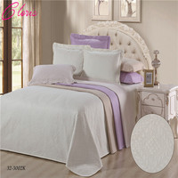 CLORIS 230*250CM Luxurious Microfiber Bedspread With Pillowcases 50*70 On Bed Bedding Blanket 230 250