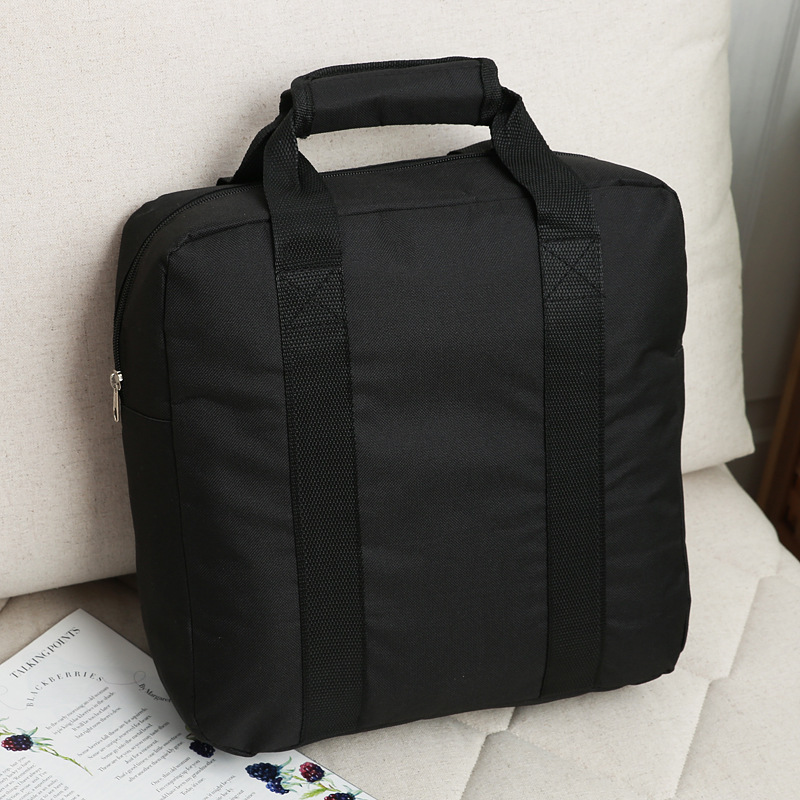Laptop Handbag Briefcase Bussiness Satchel Travel Black Portable Women Casual Oxford
