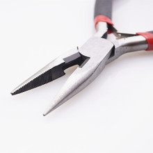Long Needle Round Nose Cutting Wire Pliers For Jewelry Making
