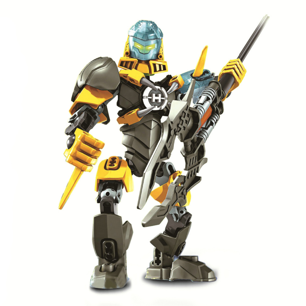 Hero Factory 5 Evos Robot Diy Action Figure Mini Block