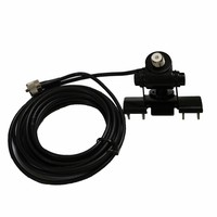 Mobile radio coaxial cable, hatchback mount bracket 5meters cable for Car Radio qyt kt 8900 leixen uv 25hx baojie bj 218