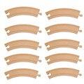 10 шт./лот ребенок DIY автомобиль игрушки деревянные Tomas биг-бенд трек