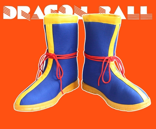 Dragon Ball Z SON GOKU Boots Anime Cosplay Shoes Cos Halloween Party Boots