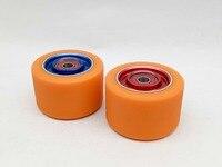 8 pces 62*40mm rodas de patins dobro de alta qualidade 92a com alta elasticidade do plutônio 608 ABEC 9 rolamentos|roller skate wheels|skate wheels|skates roller wheels -