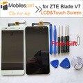 Для ZTE Blade V7 ЖК-Экран Замены Высокого Качества Аксессуары ЖК-Дисплей + Сенсорный Экран для ZTE Blade V7 5.2 дюймовый Смартфон