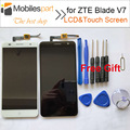 for ZTE Blade V7 LCD Screen High Quality Replacement Accessories LCD Display+Touch Screen for ZTE Blade V7 5.2 inch Smartphone