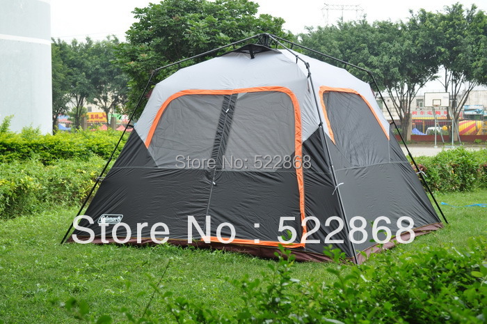 Large space 6 person one room instant set up high quality camping tent outdoor tent