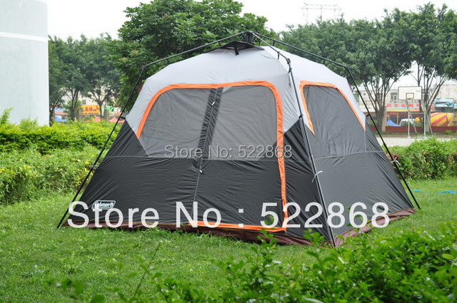 Large space 6 person one room instant set-up high quality c&ing tent \outdoor & Large space 6 person one room instant set up high quality camping ...