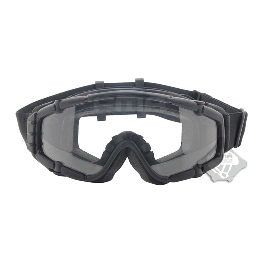 FMA Cooler Fan Version Black Outdoor Paintball Airsoft Glasses SI-Ballistic Goggle