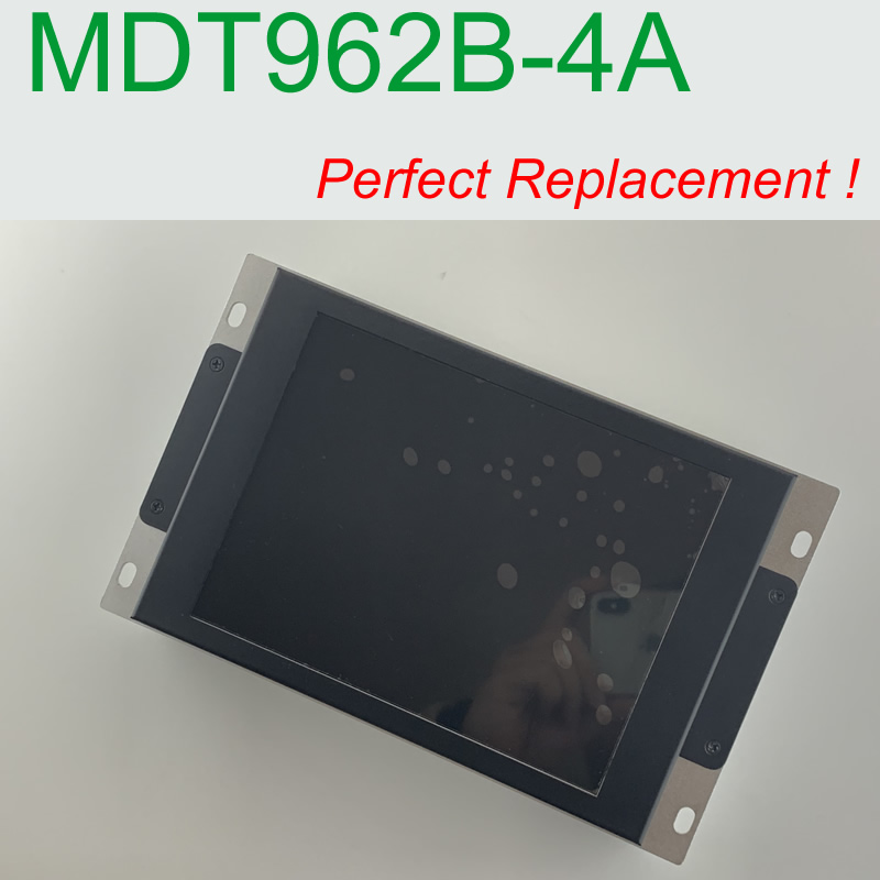 MDT962B 4A compatible LCD display 9 inch panel for E64 M64 M300 CNC system CRT monitor