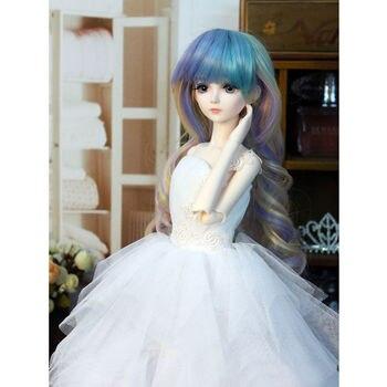 [wamami] 400# Elegant White Dress/Wedding Dress For 1/4 MSD DOD AOD DZ BJD Doll