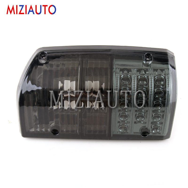 MIZIAUTO 1PCS Tail Light For Nissan Patrol GQ 1/2 Series 1988-1997 LED Rear Brake Lamp Warning Light turn signal Taillight