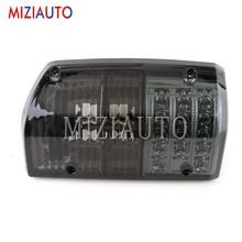 MIZIAUTO 1PCS Tail Light For Nissan Patrol GQ 1/2 Series 1988-1997 LED Rear Brake Lamp Warning turn signal Taillight
