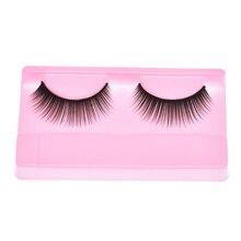 Fashion Natural Beauty  Dense A Pair False Eyelashes Free Shipping