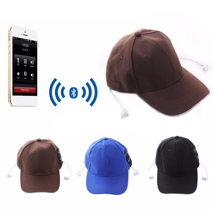 TTLIFE Bluetooth  Music Sun Hat Headphone EDR Earphone Sport Baseball Cap Headset 2-in-1 Hands-free for SmartPhone Tablet PC ttlife bluetooth earphone