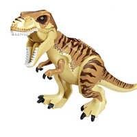 Bloques de construcción de dinosaurios para niños, juguete de ladrillos de D-REX, Dllophoaurus Pteranodon Juguetes de bloques de construcción Tiranosaurio Rex
