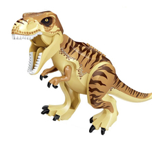 Single Sale Dllophoaurus Pteranodon D-REX Tyrannosaurs Rex Dinosaurs Brick Building Blocks Toys For Children Gifts