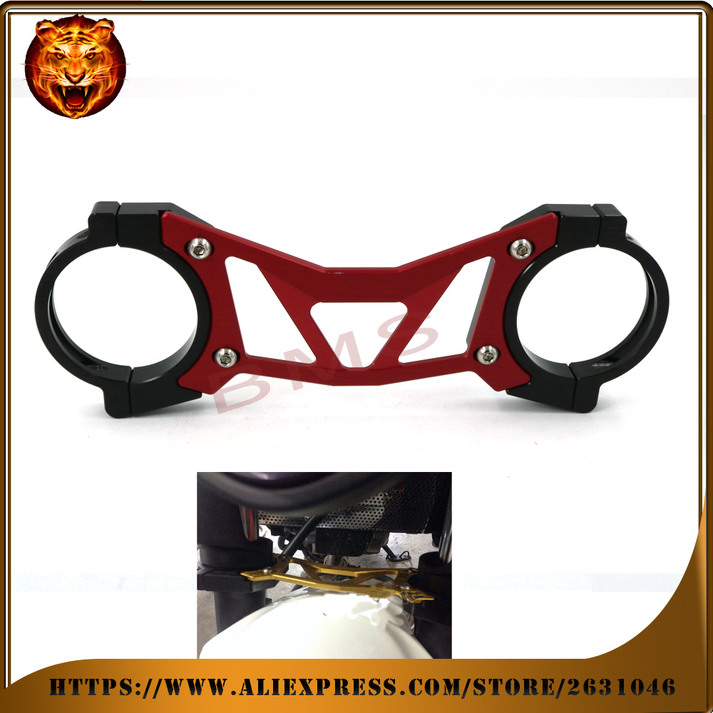 Motorcycle Accessories Aluminum BAlANCE Foreshock FRONT FORK BRACE For HONDA CB400 VTEC 02-2015, CB1300SF 04-2013 free shipping