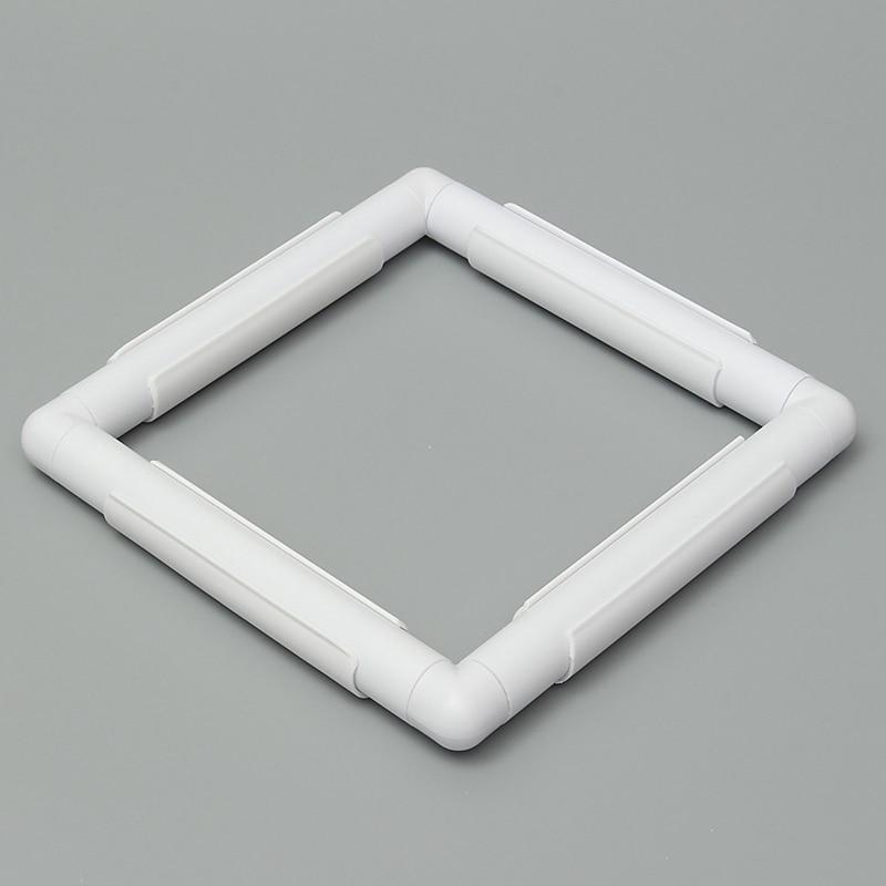 Oneroom 1 unid rectángulo forma de plástico bordado marco Cruz Hoop ...