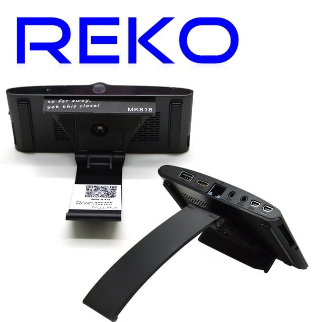Newest MK818 Android TV BOX Rockchip RK3066 Dual Core Mini PC AV Output Webcam MIC Bluetooth RJ45 Earphone Port 1GB RAM 8GB ROM