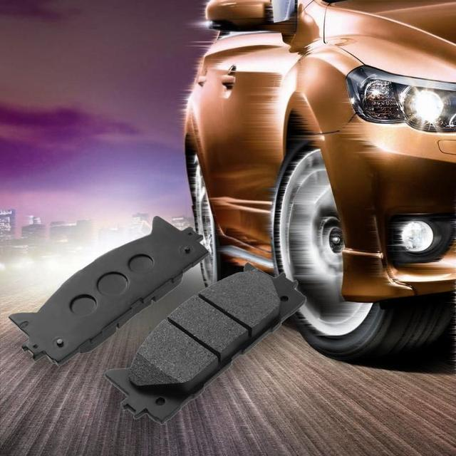 US $47 49 |VODOOL 4pcs Car Styling Front Brake Pads for Toyota Camry 2002  2009 0446506100 044653345 Auto Accessories High Quality-in Pedals from