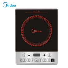 High quality Midea induction cooker with Black ABS plastic waterproof function Stem/noil/stew/fry induction cooktop for home