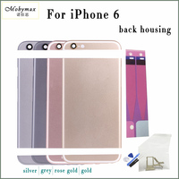 Chassis Back Housing Battery Cover Coque Fundas For IPhone 6 4 7 A1586 A1549 LOGO Buttons