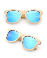 Knotolus 2018 full frame bamboo sunglasses polarized lens