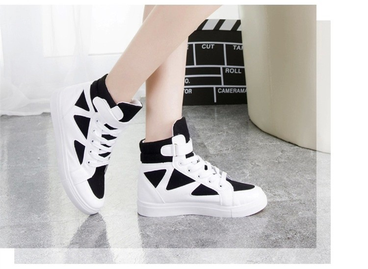 LOVE Fashion High Top Casual Shoes For Women Canvas Shoes 2015 New Autumn Ankle Boots Breathable Ladies Shoes Student Flats YD28 (13)