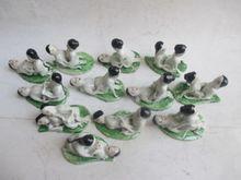 Ancient Chinese ceramics pair/set of 12 men and women